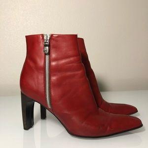 Dan post heeled boots women's size 8